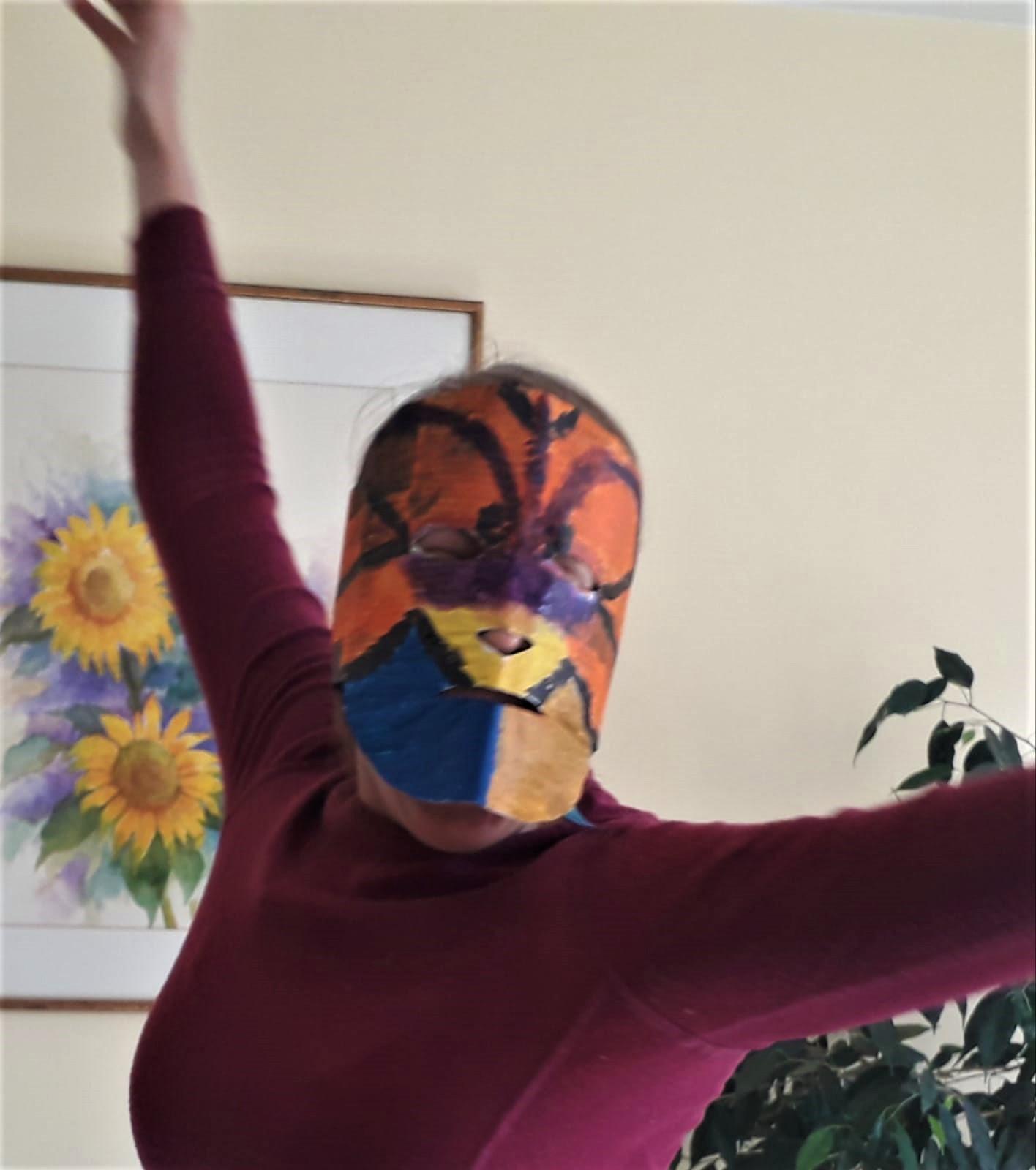 Masque en mouvement Patricia vidéo (2)